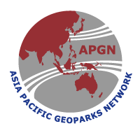 Asia Pacific Geoaprks Network, APGN logo