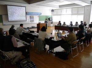 1.Presentation by representatives of Kyushu Geoparks